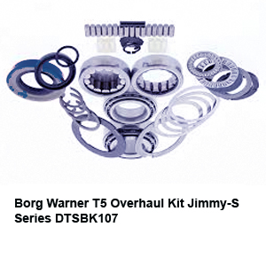 Borg Warner T5 Overhaul Kit Jimmy-S Series DTSBK107