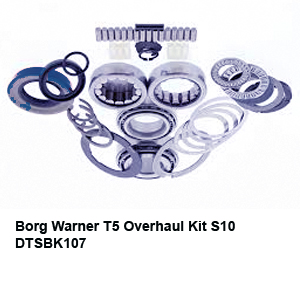 Borg Warner T5 Overhaul Kit S10 DTSBK10732