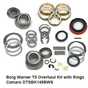 Borg Warner T5 Overhaul Kit with Rings Camaro DTSBK149BWS