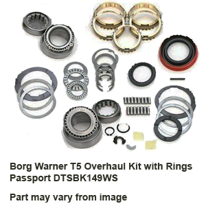 Borg Warner T5 Overhaul Kit with Rings Passport DTSBK149WS