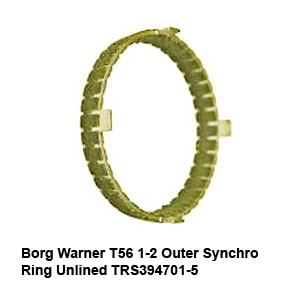 Borg Warner T56 1-2 Outer Synchro Ring Unlined TRS394701-59