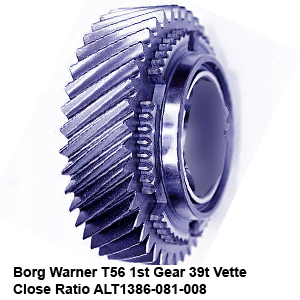 Borg Warner T56 1st Gear 39t Vette Close Ratio ALT1386-081-0089