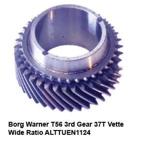 Borg Warner T56 3rd Gear 37T Vette Wide Ratio ALTTUEN11243