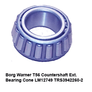 Borg Warner T56 Countershaft Ext. Bearing Cone LM12749 TRS3942260-24