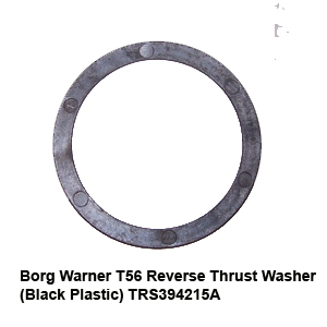 Borg Warner T56 Reverse Thrust Washer (Black Plastic) TRS394215A2