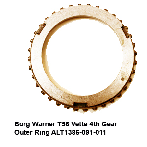 Borg Warner T56 Vette 4th Gear Outer Ring ALT1386-091-0114