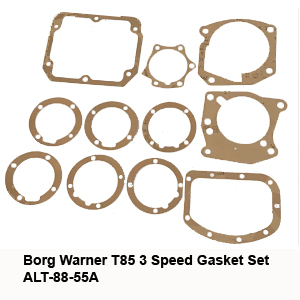 Borg Warner T85 3 Speed Gasket Set ALT-88-55A7