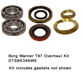 Borg Warner T87 Overhaul Kit DTSBK346WS323