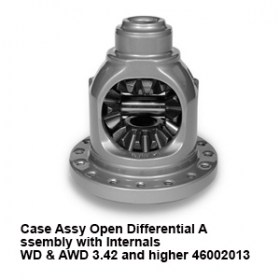 Case Assy Open Differential A ssembly with Internals  WD _ AWD 3.42 and higher 460020137