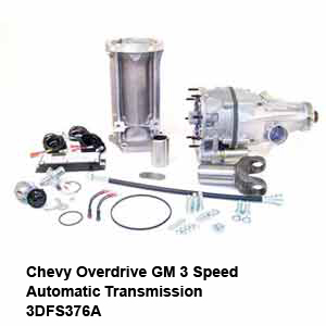 Chevy Overdrive GM 3 Speed Automatic Transmission 3DFS376A