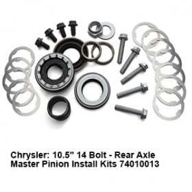 Chrysler- 10.5_ 14 Bolt - Rear Axle Master Pinion Install Kits 74010013 2
