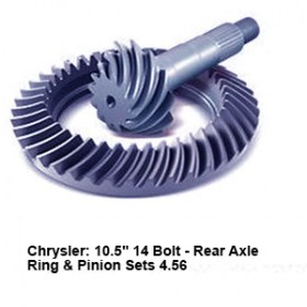Chrysler- 10.5_ 14 Bolt - Rear Axle Ring _ Pinion Sets 4.56 9