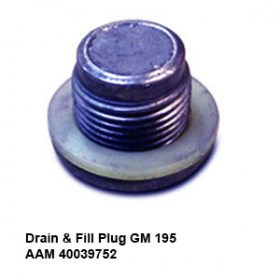 Drain _ Fill Plug GM 195 AAM 400397524