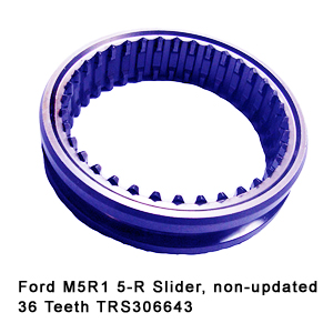 Ford M5R1 5-R Slider non-updated 36 Teeth TRS306643