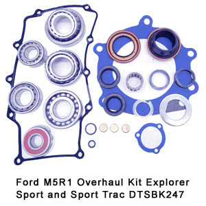 Ford M5R1 Overhaul Kit Explorer Sport and Sport Trac DTSBK247