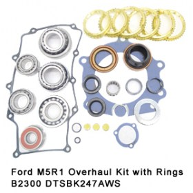 Ford M5R1 Overhaul Kit with Rings B2300 DTSBK247AWS