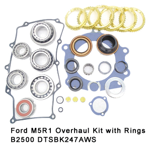 Ford M5R1 Overhaul Kit with Rings B2500 DTSBK247AWS