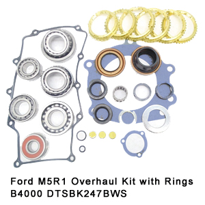 Ford M5R1 Overhaul Kit with Rings B4000 DTSBK247BWS