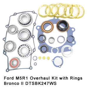 Ford M5R1 Overhaul Kit with Rings Bronco ll DTSBK247WS9