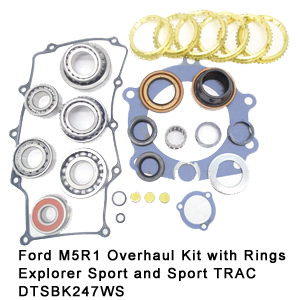 Ford M5R1 Overhaul Kit with Rings Explorer Sport and Sport TRAC DTSBK247WS