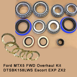 Ford MTX5 FWD Overhaul Kit DTSBK158LWS Escort EXP ZX215