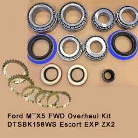 Ford MTX5 FWD Overhaul Kit DTSBK158WS Escort EXP ZX2