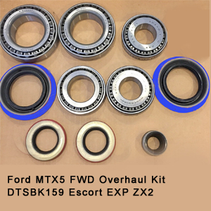 Ford MTX5 FWD Overhaul Kit DTSBK159 Escort EXP ZX23
