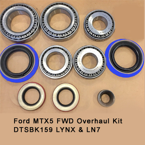 Ford MTX5 FWD Overhaul Kit DTSBK159 LYNX & LN76