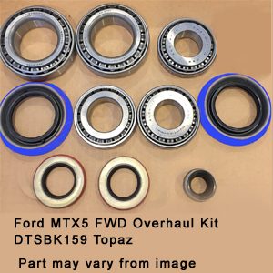 Ford MTX5 FWD Overhaul Kit DTSBK159 Topaz