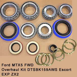 Ford MTX5 FWD Overhaul Kit DTSBK159AWS Escort EXP ZX28