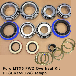 Ford MTX5 FWD Overhaul Kit DTSBK159CWS Tempo