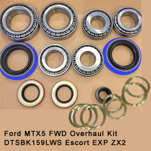 Ford MTX5 FWD Overhaul Kit DTSBK159LWS Escort EXP ZX2