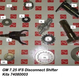 GM 7.25 IFS Disconnect Shifter Kits 74080003