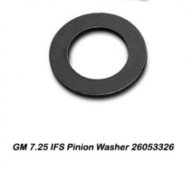 GM 7.25 IFS Pinion Washer 26053326