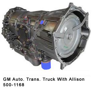 GM Auto. Trans. Truck With Allison 500-1168