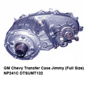 GM Chevy Transfer Case Jimmy (Full Size) NP241C DTSUMT134