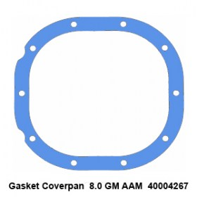 Gasket Coverpan  8.0 GM AAM  400042674