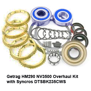 Getrag HM290 NV3500 Overhaul Kit with Syncros DTSBK235CWS8