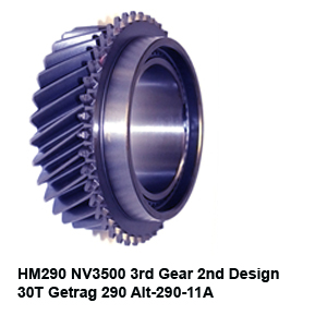 HM290 NV3500 3rd Gear 2nd Design 30T Getrag 290 Alt-290-11A