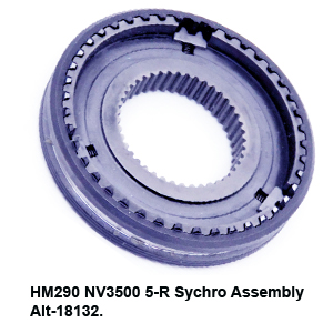 HM290 NV3500 5-R Sychro Assembly Alt-18132