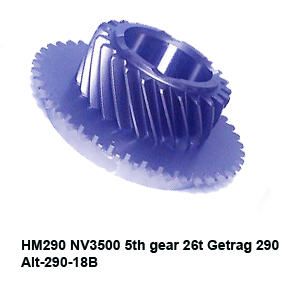 HM290 NV3500 5th gear 26t Getrag 290 Alt-290-18B