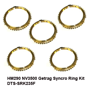 HM290 NV3500 Getrag Syncro Ring Kit DTS-SRK235F