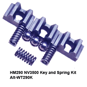 HM290 NV3500 Key and Spring Kit Alt-WT290K