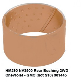 HM290 NV3500 Rear Bushing 2WD Chevrolet - GMC (not S10) 301445