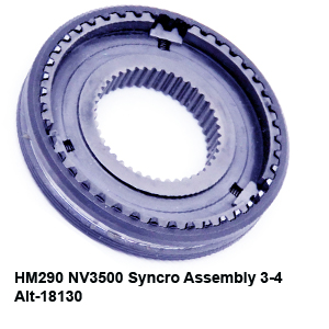 HM290 NV3500 Syncro Assembly 3-4 Alt-18130