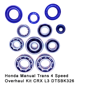 Honda Manual Trans 4 Speed Overhaul Kit CRX L3 DTSBK326