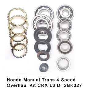 Honda Manual Trans 4 Speed Overhaul Kit CRX L3 DTSBK327