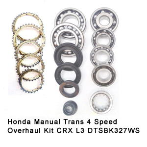 Honda Manual Trans 4 Speed Overhaul Kit CRX L3 DTSBK327WS