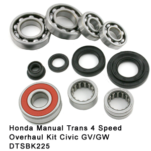 Honda Manual Trans 4 Speed Overhaul Kit Civic GV-GW DTSBK225