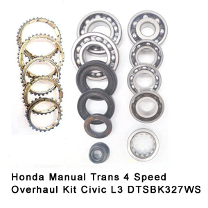 Honda Manual Trans 4 Speed Overhaul Kit Civic L3 DTSBK327WS